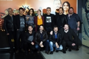 Foto/IPP/Gioia Botteghi 22/01/2018 Roma, presentazione del film MADE IN ITALY, nella foto: cast Italy Photo Press - World Copyright