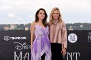 Foto/IPP/Gioia Botteghi Roma 07/10/2019 photocall del film Maleficent, nella foto :    Angelina Jolie e Michelle Pfeiffer Italy Photo Press - World Copyright