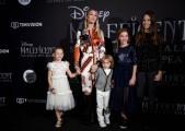 Foto/IPP/Gioia Botteghi Roma 07/10/2019 red carpet del film Maleficent, nella foto :    Eleonora Abbagnato e i figli Italy Photo Press - World Copyright