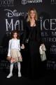 Foto/IPP/Gioia Botteghi Roma 07/10/2019 red carpet del film Maleficent, nella foto :    Adriana Volpe e figlia Italy Photo Press - World Copyright