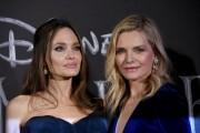 Foto/IPP/Gioia Botteghi Roma 07/10/2019 red carpet del film Maleficent, nella foto :        Angelina Jolie e Michelle Pfeiffer Italy Photo Press - World Copyright
