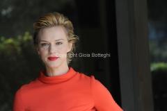 30/03/2012 Roma, presentazione della fiction di raiuno MARIA DI NAZARET, nella foto: Antonia Liskova
