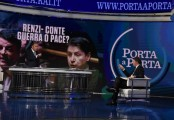 Foto/IPP/Gioia Botteghi Roma 19/02/2020   Trasmissione porta a porta , ospite Matteo Renzi Italy Photo Press - World Copyright