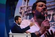 Foto/IPP/Gioia Botteghi Roma 10/09/2019 Matteo Salvini a porta a porta Italy Photo Press - World Copyright