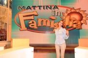 Roma 11/09/2010 _ Mattina in famiglia raidue, nella foto: Miriam Leone
