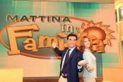 Roma 11/09/2010 _ Mattina in famiglia raidue, nella foto: Miriam Leone e Tiberio Timperi