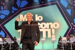 5/05/2011 Roma, Me lo dicono tutti, prima puntata, nella foto il conduttore Pino Insegno