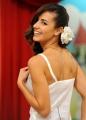 29/09/2012 Roma prima puntata di Mazzogiorno in Famiglia, nella foto : Laura Barriales