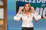 """Foto/IPP/Gioia Botteghi 18/09/2018 Roma, trasmissione """"mezzogiorno in famiglia"""", nella foto: Adriana Volpe  Italy Photo Press - World Copyright"""