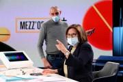 Foto/IPP/Gioia Botteghi Roma 01/11/2020 Trasmissione Mezz'ora in più, con Lucia Annunziata  Italy Photo Press - World Copyright