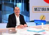 Foto/IPP/Gioia Botteghi Roma 01/11/2020 Trasmissione Mezz'ora in più, ospite di Lucia Annunziata il ministro Nicola Zingaretti Italy Photo Press - World Copyright