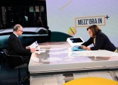 Foto/IPP/Gioia Botteghi Roma 01/11/2020 Trasmissione Mezz'ora in più, ospite di Lucia Annunziata il ministro Roberto Gualtieri Italy Photo Press - World Copyright