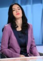 Foto/IPP/Gioia BotteghiRoma 20/12/2020 Trasmissione di rai 3 Mezz'ora in più ospite la ministra dell'istruzione Lucia AzzolinaItaly Photo Press - World Copyright