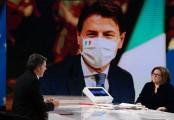 Foto/IPP/Gioia Botteghi Roma 17/01/2021 Trasmissione di rai 3 Mezz'ora in più, ospite Matteo Renzi Italy Photo Press - World Copyright