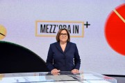 Foto/IPP/Gioia Botteghi Roma 29/09/2019 prima puntata di Mezz'ora in più, rai 3 condotto da Lucia Annunziata Italy Photo Press - World Copyright
