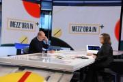 Foto/IPP/Gioia Botteghi Roma 11/04/2021 Trasmissione Mezz'ora in più, ospite di Lucia Annunziata Nicola Zingaretti Italy Photo Press - World Copyright