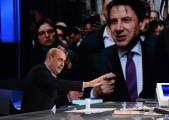 Foto/IPP/Gioia Botteghi Roma 22/12/2019 Puntata di Mezz'ora in più, ospite di Lucia Annunziata,  Nicola Zingaretti Italy Photo Press - World Copyright