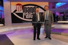 6/05/2011 Roma, Mi manda raitre, i due avvocati: Ugo Ruffolo e Giacomo Frazzitta
