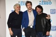 Foto/IPP/Gioia Botteghi Roma11/02/2019 presentazione del film Modalità aereo, nella foto: Lillo, Paolo Ruffini, Dino Abbrescia Italy Photo Press - World Copyright