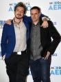 Foto/IPP/Gioia Botteghi Roma11/02/2019 presentazione del film Modalità aereo, nella foto: Paolo Ruffini con il regista Fausto Brizzi Italy Photo Press - World Copyright