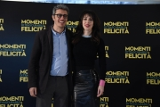 Foto/IPP/Gioia Botteghi Roma 07/03/2019 Presentazione della film, Momenti di trascurabile felicità, nella foto: Thony e Pif Italy Photo Press - World Copyright
