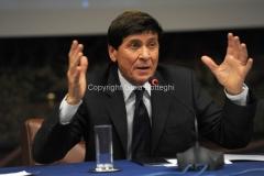 Roma 22/12/2010 conferenza stampa in rai su San Remo, nella foto: Gianni Morandi
