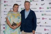 """Foto/IPP/Gioia Botteghi Roma 22/06/2021 Photocall """"Nastri d?argento"""" nella foto :  Renato Pozzetto con la figlia Italy Photo Press - World Copyright"""