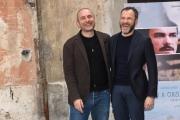 Foto/IPP/Gioia Botteghi 18/04/2018 Roma, Presentazione del fil NATO A CASAL DI PRINCIPE, nella foto Massimiliano Gallo con il regista Bruno Oliviero  Italy Photo Press - World Copyright