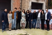 Foto/IPP/Gioia Botteghi 18/04/2018 Roma, Presentazione del fil NATO A CASAL DI PRINCIPE, nella foto cast  Italy Photo Press - World Copyright