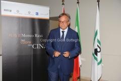 Roma 19/06/2012 presentazione del documentario rai NEL CUORE DELLA CINA, nella foto il presidente della regione Marche Gian Maria Spacca