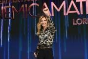 24/11/2016 Roma Presntazione della trasmissione di rai uno Nemicheamatissime, nella foto Lorella Cuccarini
