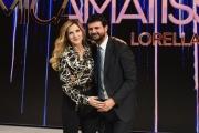 24/11/2016 Roma Presntazione della trasmissione di rai uno Nemicheamatissime, nella foto Lorella Cuccarini con il direttore di Rai uno Fabiano