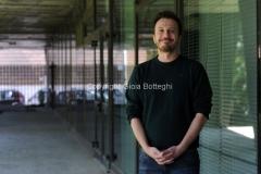 05/05/2014 Roma presentazione del nuovo programma di raitre NEMICO PUBBLICO_LIVE, nella foto il conduttore Giorgio Montanini