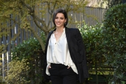 """Foto/IPP/Gioia Botteghi Roma16/11/2018 presentazione della fiction di rai uno """" nero a metà"""", nella foto Rosa Diletta Rossi Italy Photo Press - World Copyright"""