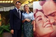 Foto/IPP/Gioia Botteghi 09/10/2018 Roma, presentazione del film Nessuno come noi, nella foto: Alessandro Preziosi, Sarah Felberbaum  Italy Photo Press - World Copyright