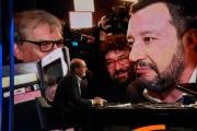 """Foto/IPP/Gioia Botteghi Roma 19/05/2019 trasmissione di rai tre Mezz'ora in più, ultima delle quattro puntate sulle elezioni europee, ospite nella foto: Nicola Zingaretti, di """"partito democratico"""" Italy Photo Press - World Copyright"""
