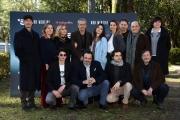 Foto/IPP/Gioia Botteghi Roma29/01/2019 Fiction di canale 5 Non mentire, nella foto: il regista Gianluca Maria Tavarelli con il cast e produzione Italy Photo Press - World Copyright