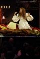 6/11/08 prima puntata di NON PERDIAMOCI DI VISTA su raitre, nella foto Paola Cortellesi ,