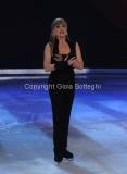 21/02/2015 Roma. prima puntata di Notti sul ghiaccio rai uno, nella foto: Milly Carlucci