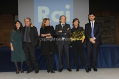 18/02/2016 Roma nuovo direttore di rete presentati da Campo dall'Orto e da Monica Maggioni, Bignardi, Dallatana, Angelo Teodolo rai4, Andrea Fabiano rai uno