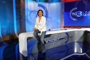 Roma 21/05/2010 Nuovi studi del tg3 a partire dal 24/5/2010, nella foto Bianca Berlinguer Direttore