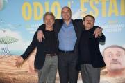 Foto/IPP/Gioia BotteghiRoma 27/01/2020 Presentazione del film Odio l'estate, nella foto: Aldo Baglio, Giovanni Storti, Giacomo PorettiItaly Photo Press - World Copyright