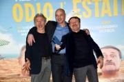 Foto/IPP/Gioia Botteghi Roma 27/01/2020 Presentazione del film Odio l'estate, nella foto: Aldo Baglio, Giovanni Storti, Giacomo Poretti Italy Photo Press - World Copyright