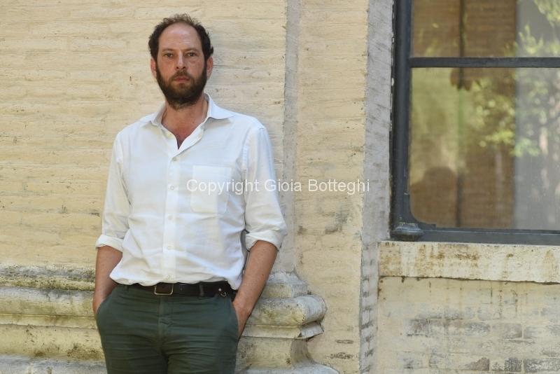 Foto/IPP/Gioia Botteghi 20/06/2018 Roma, Festival delle letterature 2018, nella foto: Olivier Guez  Italy Photo Press - World Copyright