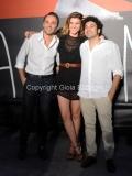 26/07/2013 Roma Presentazione della fiction Ombrelloni, raidue nella foto: Melissa Bartolini, Luca Avagliano, Flavio Furno