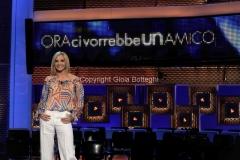 28/06/2011 Roma, puntata zero del programma rai uno ORA CI VORREBBE UN AMICO, nella foto la conduttrice Lorella Cuccarini