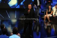 28/06/2011 Roma, puntata zero del programma rai uno ORA CI VORREBBE UN AMICO, nella foto Al Bano
