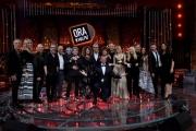 """Foto/IPP/Gioia Botteghi 14/06/2018 Roma, terza puntata di """"ora o mai più"""", nella foto: Amadeus e la sua banda di cantanti  Italy Photo Press - World Copyright"""