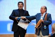 presentazione palinsesti rai 16/06709: Max Giusti e Giancarlo Magalli
