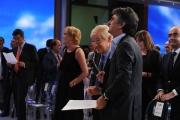 presentazione palinsesti rai 16/06709: Garimberti canta con Vincenzo Salemme